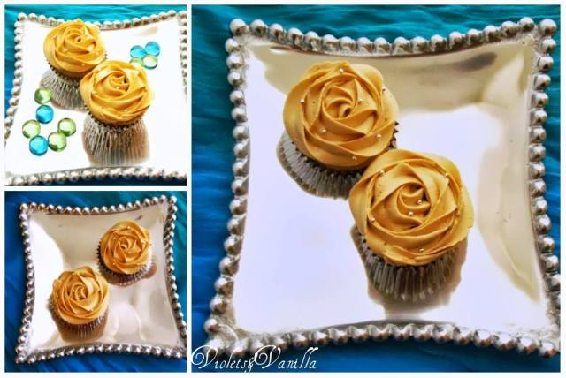 Caramel Cupcakes with Dulce de Leche Buttercream